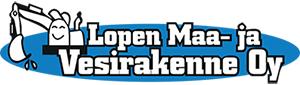 Lopen Maa ja Vesirakenne Oy -logo